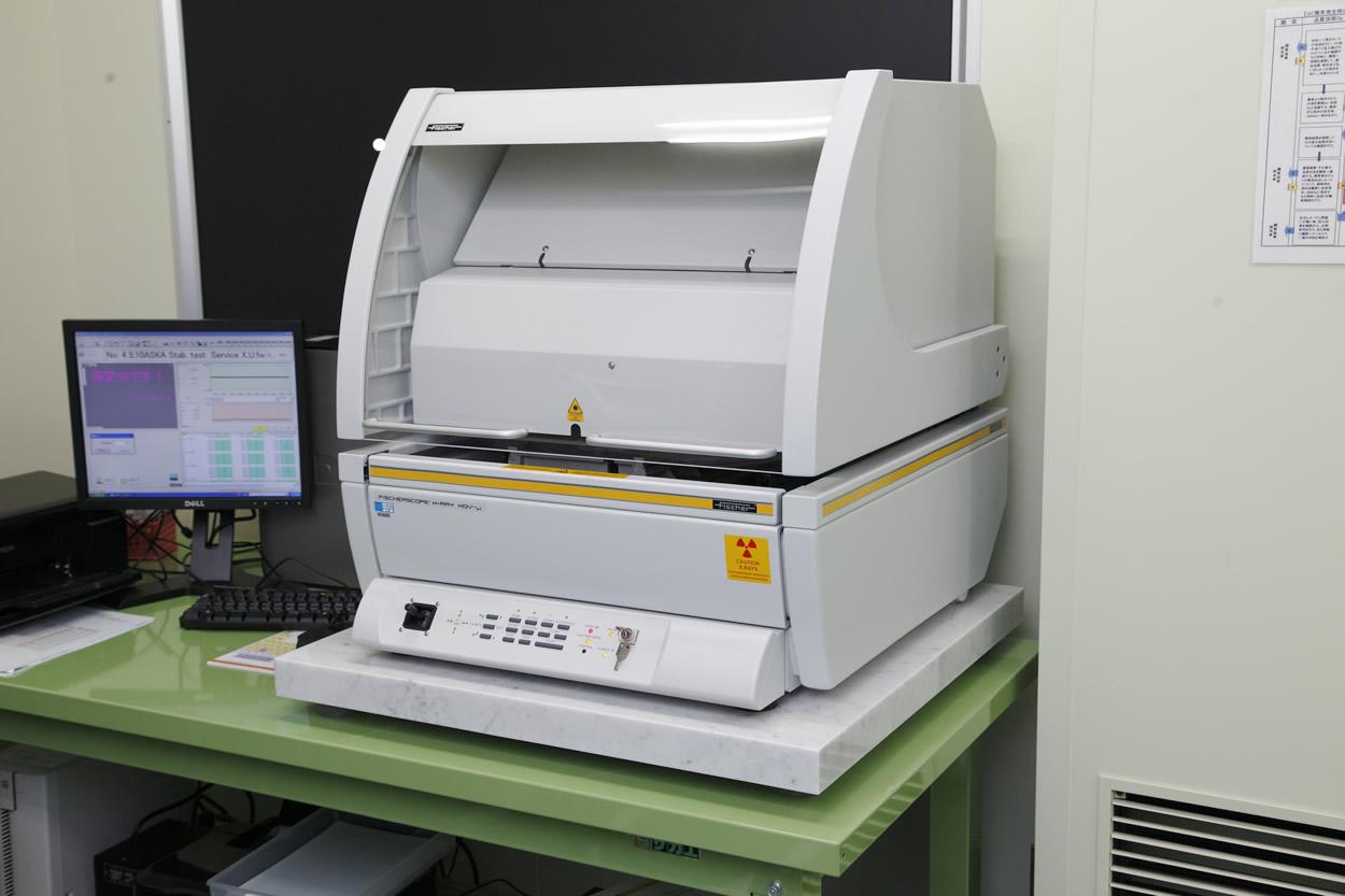 蛍光X線膜厚測定装置