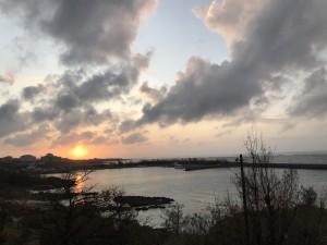 宮古島-夕焼け